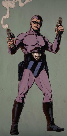 The phantom(ghost who walks) Pulp Fiction Characters, Pulp Fiction Art, Comic Book Characters, Comic Book Heroes, Comic Character, Comic Books Art, Comic Art, Book Art, Tarzan