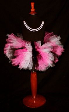 Hot Pink Black and White Girls Tutu Newborn tutu baby tutu girls tutu affordable tutu colorful tutu
