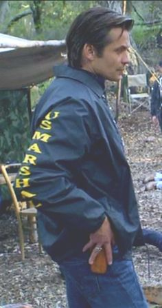 He was always so hot especially in the Marshal's jacket!