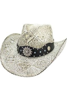 Looking for Luxury Divas White Antiqued Straw Cowboy Hat Jeweled Band ? Check out our picks for the Luxury Divas White Antiqued Straw Cowboy Hat Jeweled Band from the popular stores - all in one. Cowgirl Hats, Western Hats, Western Cowboy, Western Style, Western Wear, White Cowboy Hat, Hats Tumblr, Wide-brim Hat, Outfits With Hats