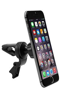 Air Vent Magnet Car Mount Holder for HTC Bolt / Desire 10 / A9 / S9 w/ Anti-Vibrate Swivel Cradle Vent Mount (use with or without case)