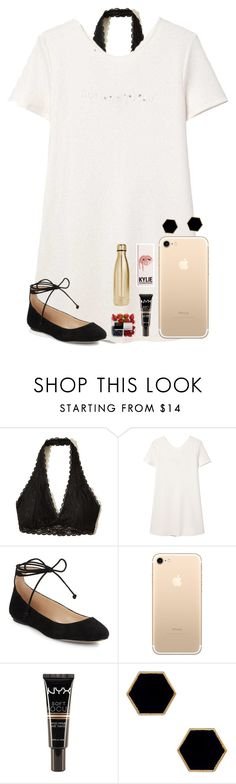 """""""IMPORTANT RTD!!!"""" by kari-luvs-u-2 ❤ liked on Polyvore featuring Hollister Co., MANGO, Karl Lagerfeld, NYX, Janna Conner Designs and S'well"""