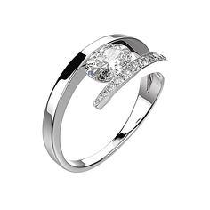 Agrandir Bague Ananta - Argent, Diamants 1