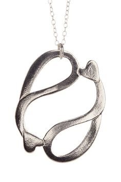 Pisces necklace. I don't usually like the Pisces symbol, but it's cute with the hearts!