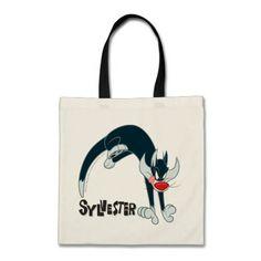Sylvester Round Jump. Producto disponible en tienda Zazzle. Accesorios, moda. Product available in Zazzle store. Fashion Accessories. Regalos, Gifts. #bolso #bag #LooneyTunes