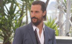 """Nella foresta con McConaughey - """"Dopo Interstellar un'altra esplorazione, stavolta terrena, di un uomo in cerca di identità"""", dice l'attore. Barbuto a Cannes per The Sea of Trees di Gus Van Sant"""