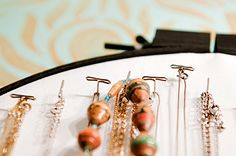 DIY embroidery hoop jewelry storage.