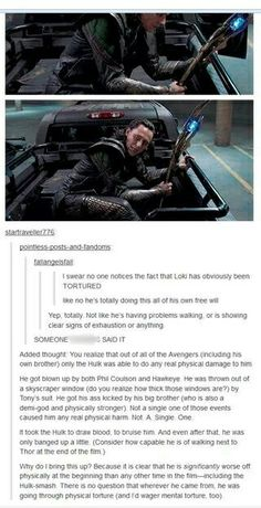 I've been waiting for this to come up, and I'm going to add that I think Loki was more or less brainwashed with the scepter just like Hawkeye and Selvig. Getting beat up by Hulk was his 'cognitive recalibration.'