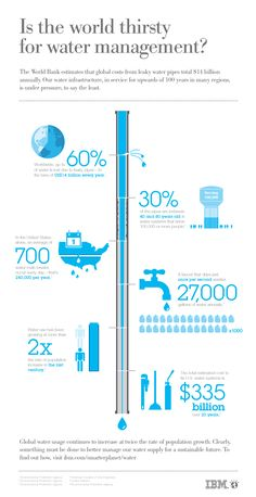 Infographics - Wasting Water Statistics Infographic