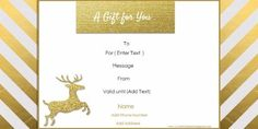 Christmas Gift Card Template 5 Awesome Christmas Gift Certificate Templates To End Printable Christmas Gift Certificate Template, Christmas Gift Certificate Template 11 Word Pdf Documents, Gift Certificate Template Word, Free Printable Gift Certificates, Gift Card Template, Christmas Gift Voucher Templates, Christmas Gift Vouchers, Christmas Templates, Christmas Printables, Homemade Christmas Gifts, Holiday Gifts