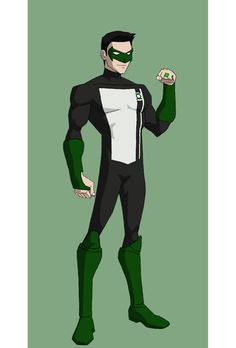 Young Justice Green Lantern (Kyle Rayner) by jasonh537 on @DeviantArt