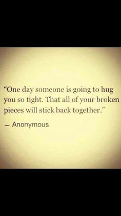 Hug me tight!