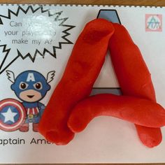 Available in the $5 Superhero Printable Package Play Doh, Learning Centers, Packaging, Printable, Superhero, Education, Cool Stuff, Kids, Young Children