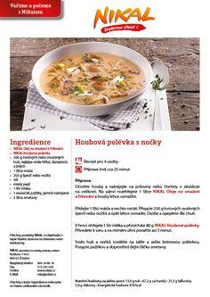 Výsledek obrázku pro houbové recepty popis