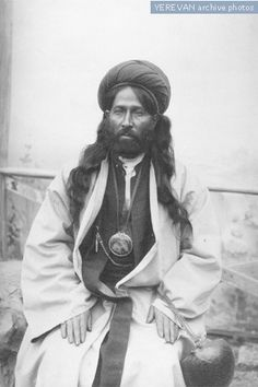 Dervish in Irevan, West-Azerbaijan1916