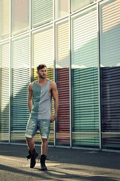 the shorts are not too tight.  hate it when guys wear this look with tight jeans