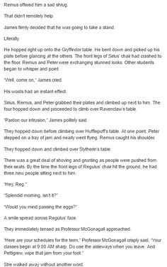 Sirius and Regulus - The Marauders part 2