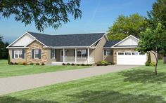 View our numerous modular home floor plans and elevations, like this Prescott.
