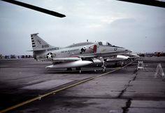 VMA-214 Black Sheep.  McDonnell Douglas A4 Skyhawk.