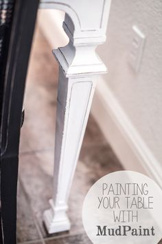 Painting Your Table With Mudpaint