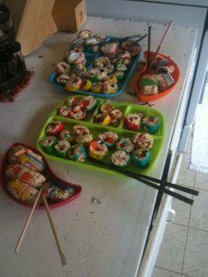 Rice Crispy Sushi
