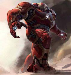 Los Vengadores 3: ¡La armadura de Iron Man, Hulkbuster, como nunca la habías visto!