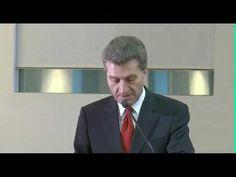 Oettinger spricht Englisch :D