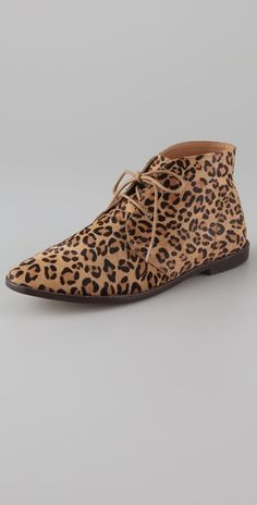 Pencey Melun lace up flat booties, $143. I hope these fit ...
