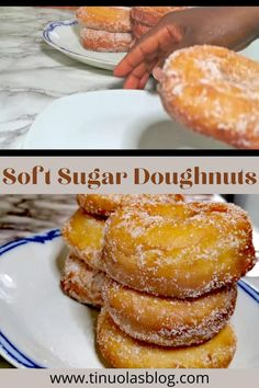 Classic Doughnut Recipe, Soft Doughnuts Recipe, Fluffy Doughnut Recipe, Homemade Doughnut Recipe, Baked Doughnuts, Homemade Doughnuts Easy, Sugar Doughnut Recipe, Beignet Recipe, Fried Donuts