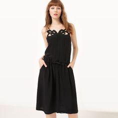 фото Платье на тонких бретелях, кружевное спереди SEE U SOON