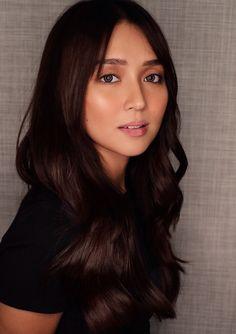 Cute Beauty, Dark Beauty, Asian Beauty, Hair Color For Tan Skin, Filipina Actress, Daniel Padilla, Kathryn Bernardo, Asian Girl, Makeup Looks