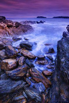 McKenzies Beach, New South Wales, Australia.