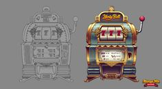 Social Casino Collectibles Game feature made for Caesars Casino. Prop Design, Game Design, Ui Design, Casino Machines, Game Props, Cute Games, Game Icon, Game Ui, Coffee Art