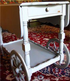 Tea cart in Paris gray