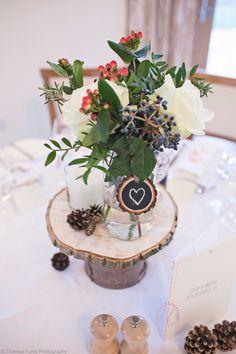 Stunning #winter #wedding at Mythe Barn - Image courtesy of http://theresafurey.com/#!/WELCOME