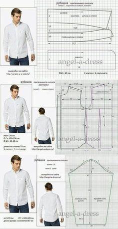 Pola dasar baju atas