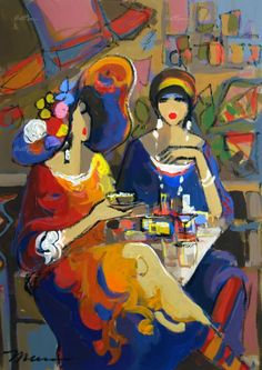 Divergences by Isaac Maimon, Original Acrylic Painting - Subject: Figurative painting subjects Divergences by Isaac Maimon - Original Acrylic Painting