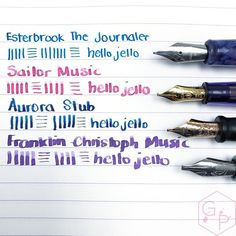Esterbrook The Journaler Nib A Great Writer for Handwriting and Journaling 7 - Azizah Asgarali