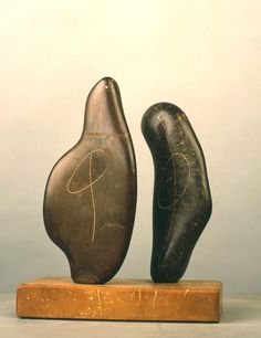 Henry Moore - Works in Public - Two Forms 1934 (LH 146)