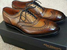 Allen Edmonds shoes…… … – Men's style, accessories, mens fashion trends 2020 Sock Shoes, Women's Shoes, Shoe Boots, Shoes Men, Shoes Sneakers, Ankle Boots, Wingtip Shoes, Brogues, Formal Shoes