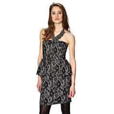Váy VILA dáng peplum, bọc ren quyến rũ