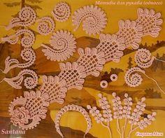 """Костюм """"Сады Эдема"""" (рукава и конечный вариант). Много фото: Дневник группы """"Все в ажуре... (вязание крючком)"""" - Страна Мам"""