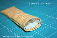 home.made.: Popsicle Sleeve Tutorial! (and giveaway...)