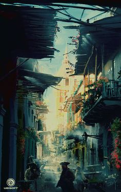 Assassin's Creed IV: Black Flag- HavanaConcept Art byDonglu