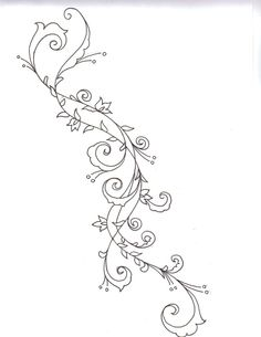swirl tattoo designs - Google Search