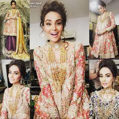 Sara Rohale Asghar bridal wear