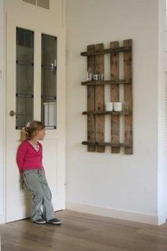 Pallet shelves ≈ by jimmie