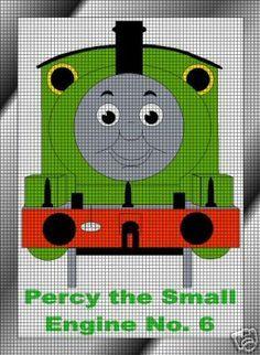 Percy The Train Engine Crochet Pattern