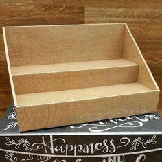 2 Tiered Cardboard vendor Table Displays