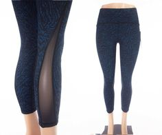 "LULULEMON High Times 7/8 Pant 10 M 25"" Inseam Pulse Capri Black Yoga NWT #Lululemon #ActivewearTight"